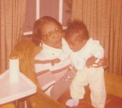I was about 7 months old here. November of 1977